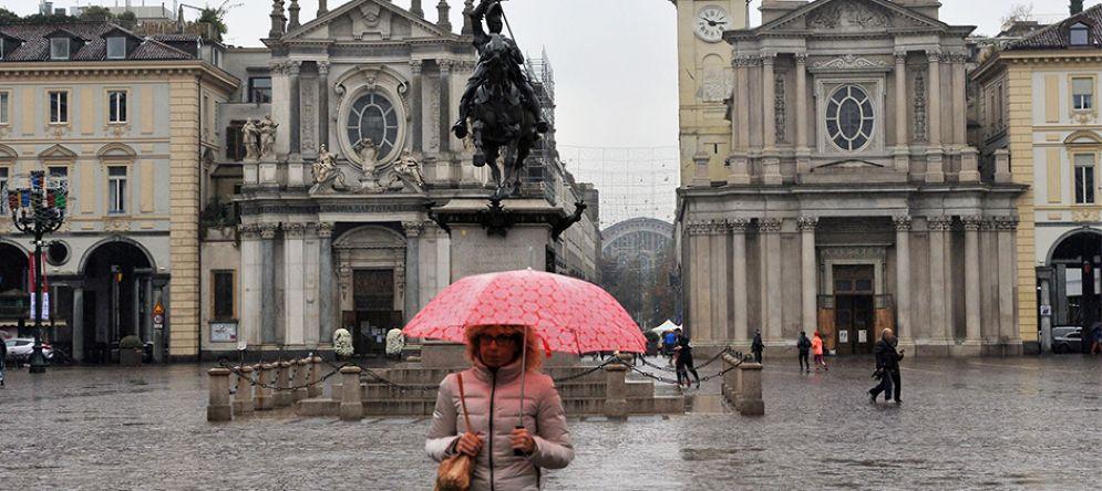 Torna la pioggia a Torino