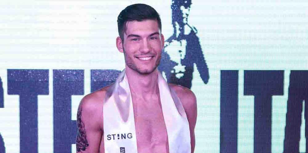 Mirko Pividore, di Tavagnacco, è il nuovo Mister Italia