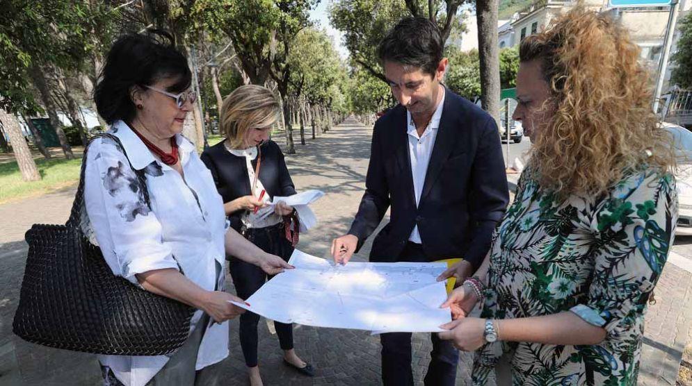 Attraversamenti pedonali in viale Miramare: al via la messa in sicurezza