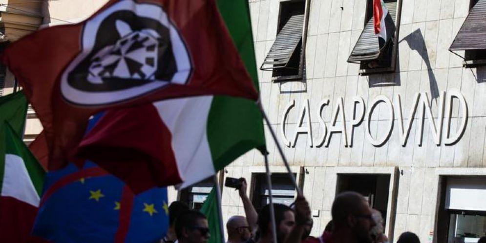 Denunciata una giovane militante di Casapound