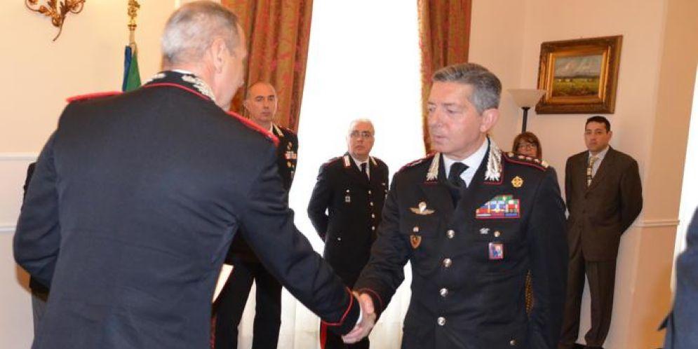 Encomio solenne al comandante provinciale di Genova, Riccardo Sciuto