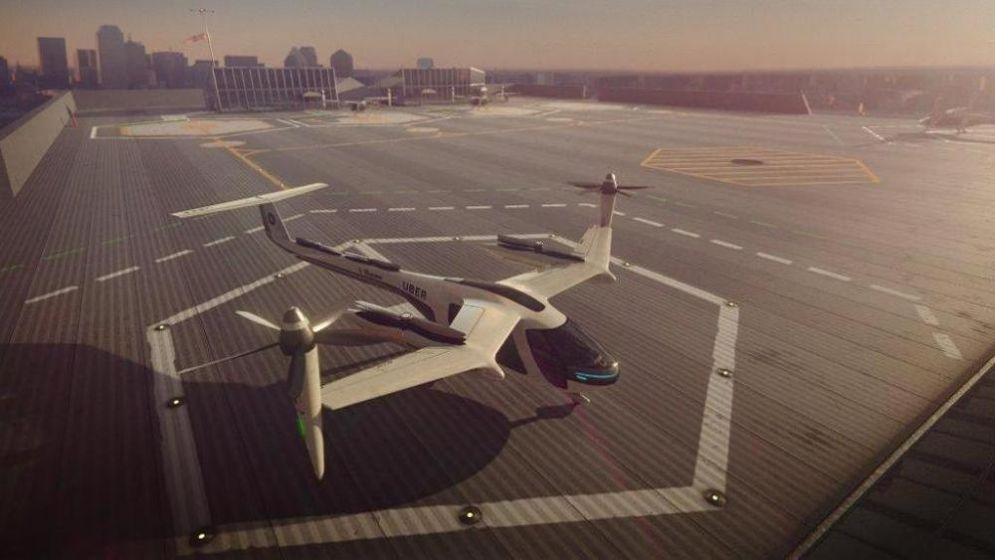 Viaggieremo sui taxi volanti di Uber già nel 2023