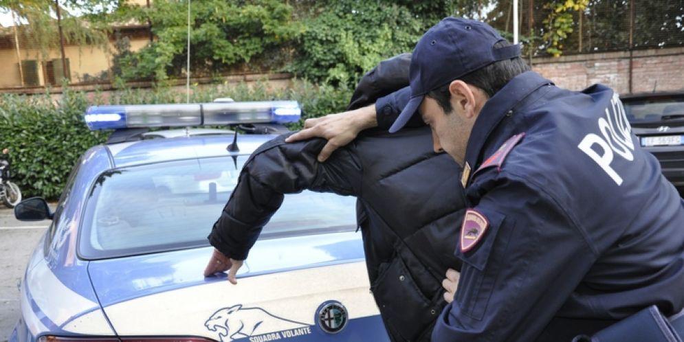 Arrestato in flagranza di reato
