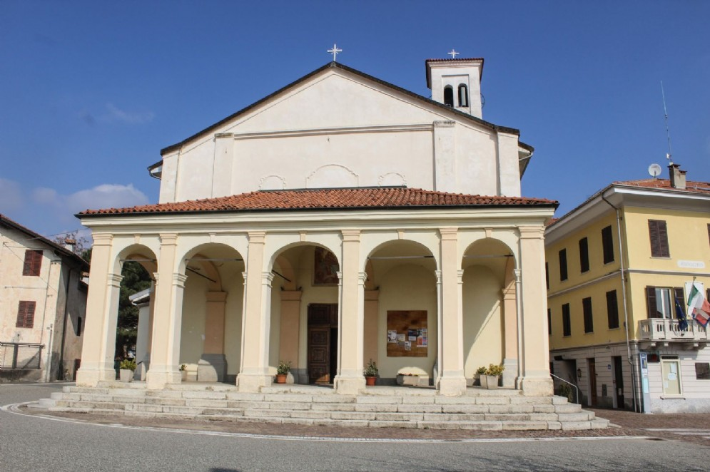 La chiesa di Soprana