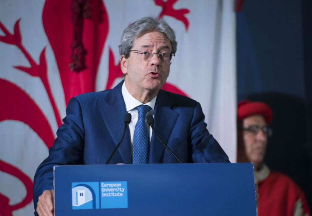 Gentiloni a Firenze alla conferenza the State of the Union