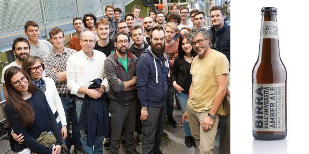 Nasce la 'birra dell'Universitá'di Udine:sará prodotta dagli studenti
