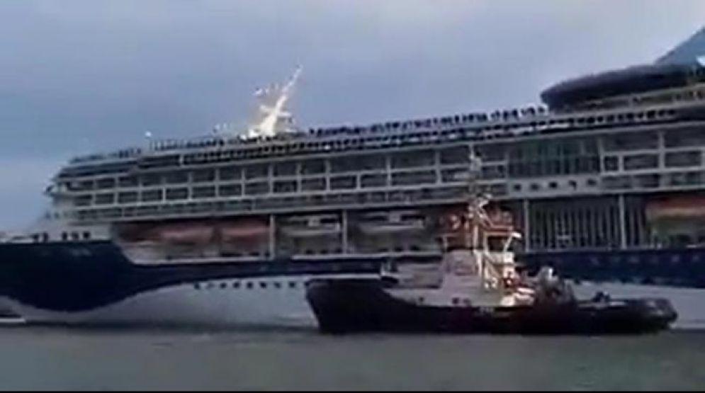 La nave in avaria