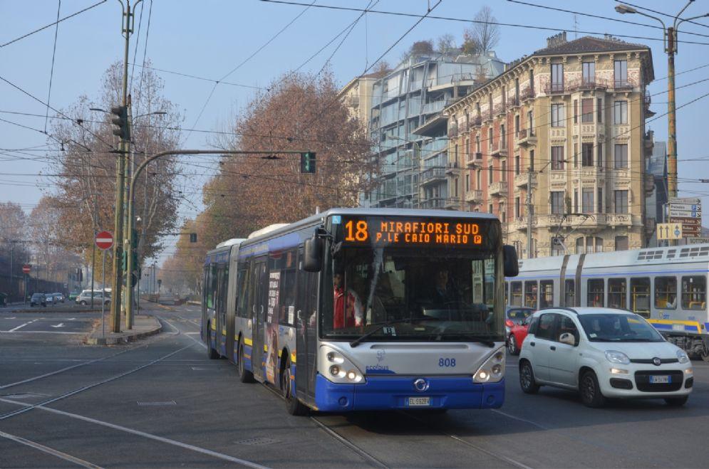 L'autobus della linea 18