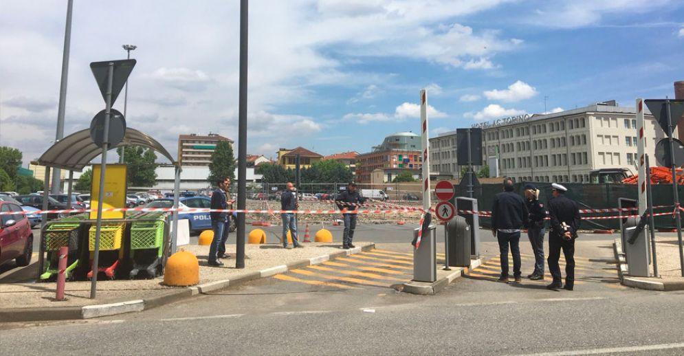 La zona in cui è stata trovata la bomba