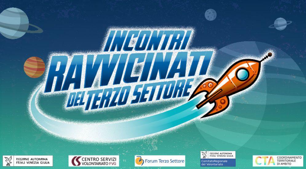 Locandina della campagna organizzata dal Centro servizi volontariato FVG