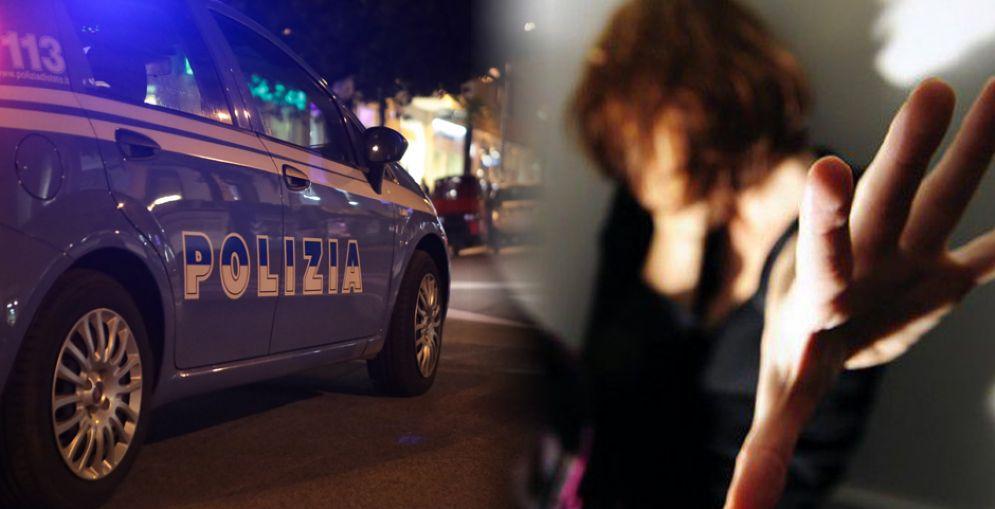 Donna violentata in via Pianezza