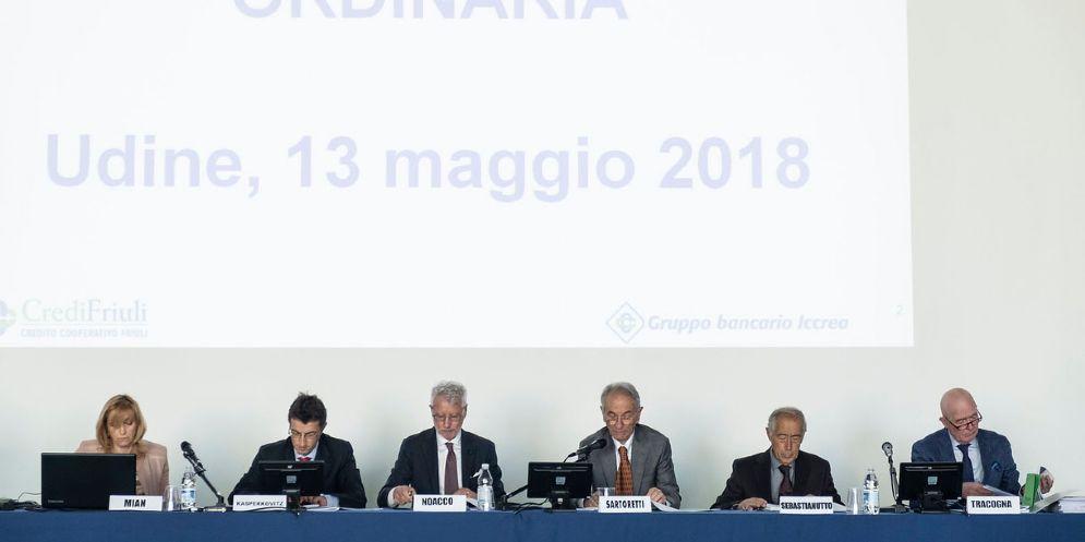 CrediFriuli in Assemblea: il 2017 chiuso con 6,2 milioni di euro di utile