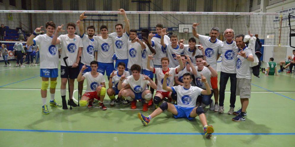 Scuola Pallavolo Biellese, arriva la promozione in Serie C