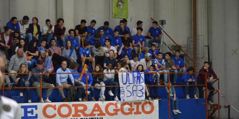 I tifosi della Scuola Pallavolo Biellese