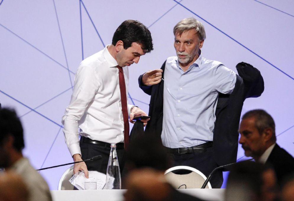 Il capogruppo Pd alla Camera Graziano Delrio
