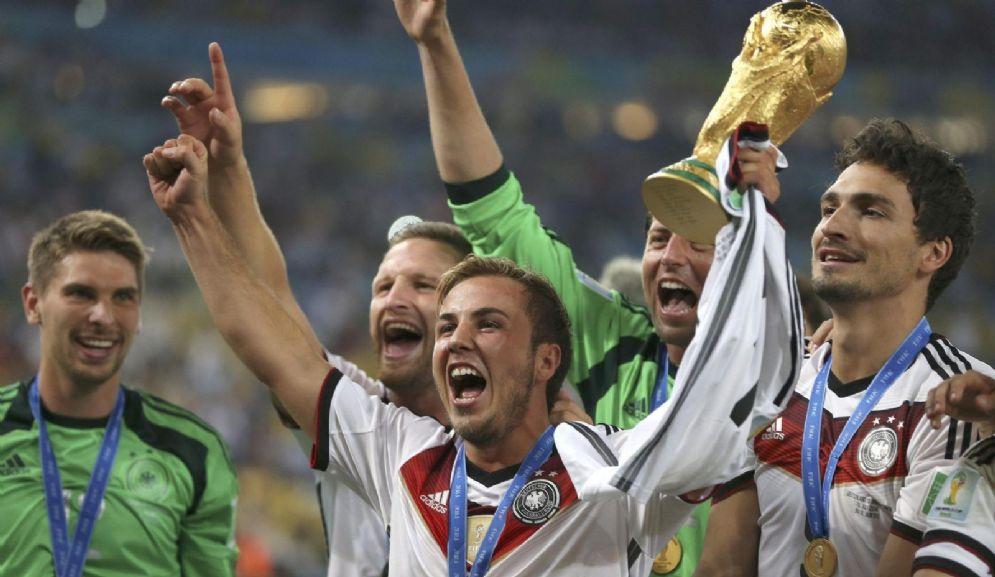 Il match winner dei Mondiali 2014, il tedesco Goetze