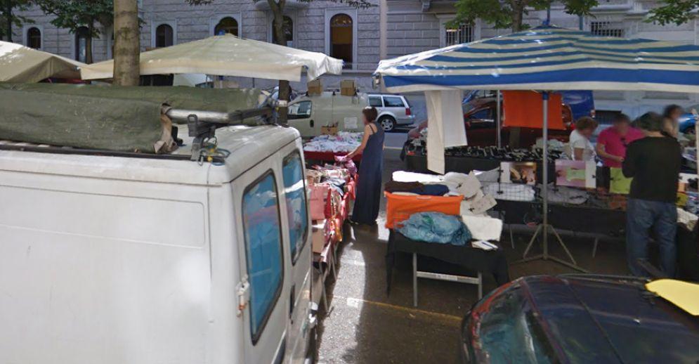 Il mercato di corso Palestro