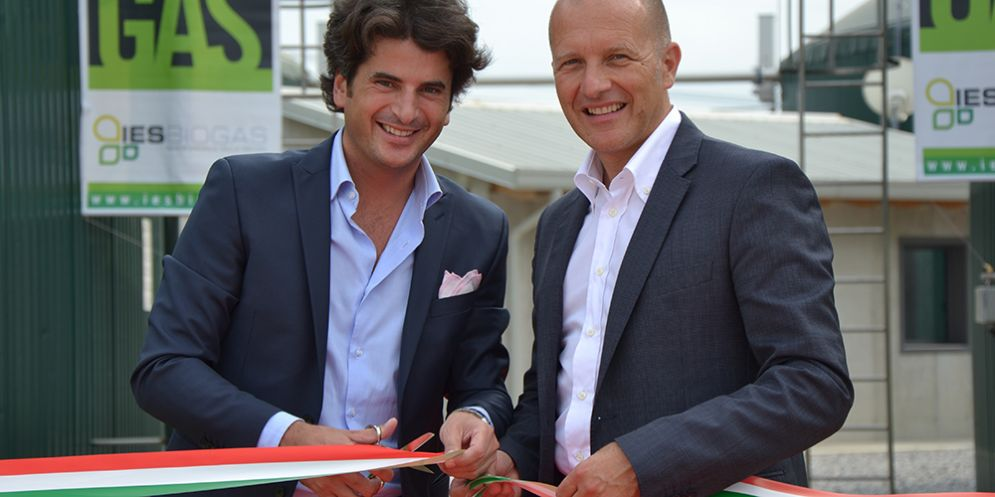Ies Energy Group: da sinistra Marco Mazzero e Marzio Ottone