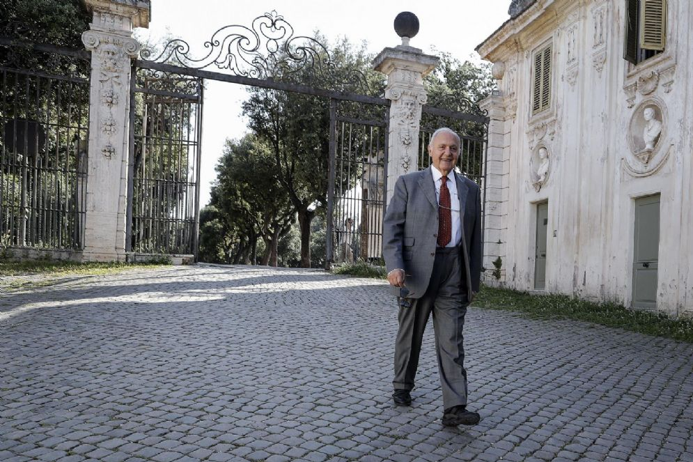 L'economista Paolo Savona