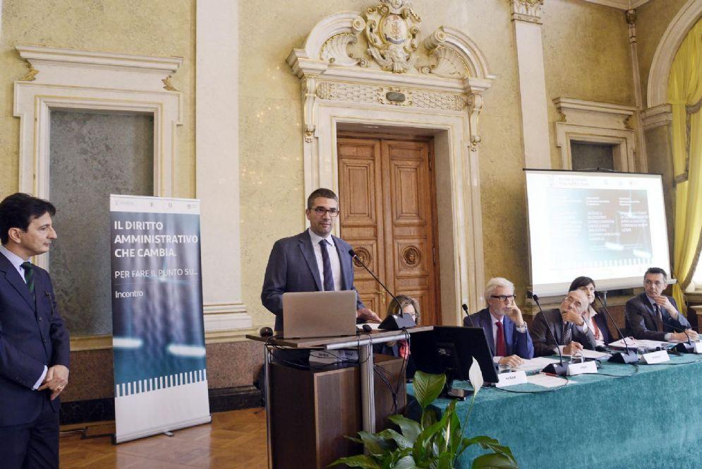 Assessore Pierpaolo Roberti al convegno internazionale diritto amministrativo per sanità transfrontaliera
