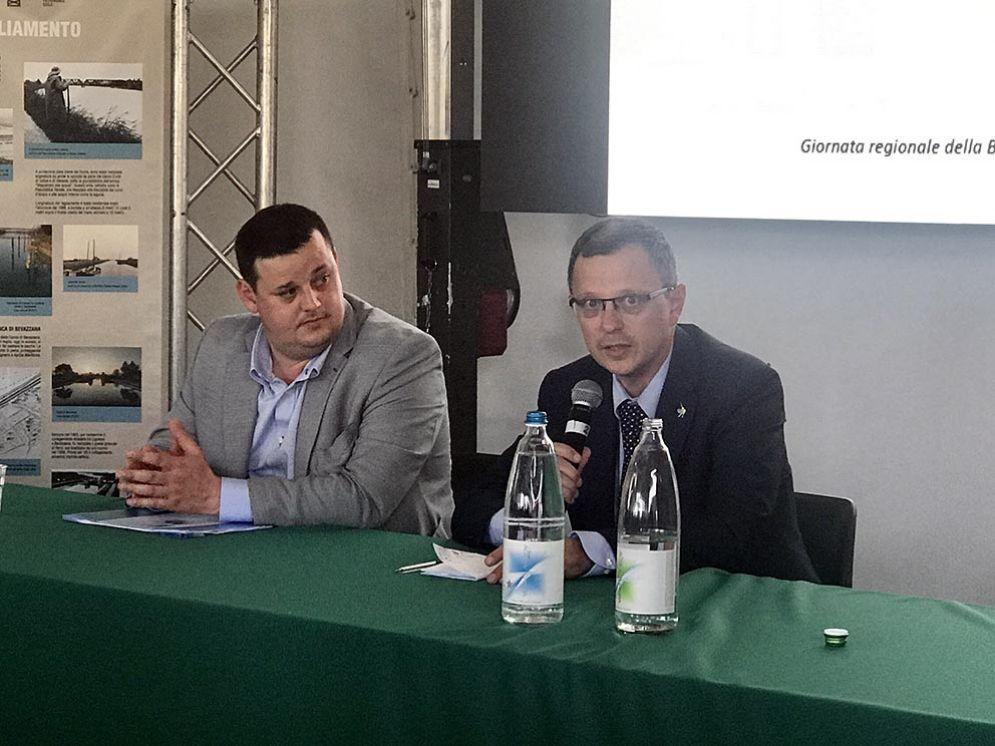 L'intervento dell'assessore alle Risorse agroalimentari, Stefano Zannier