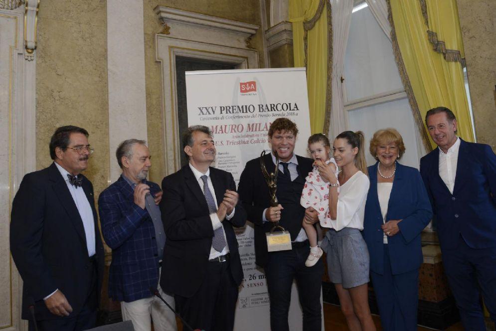 Premiazione di Mauro Milanese