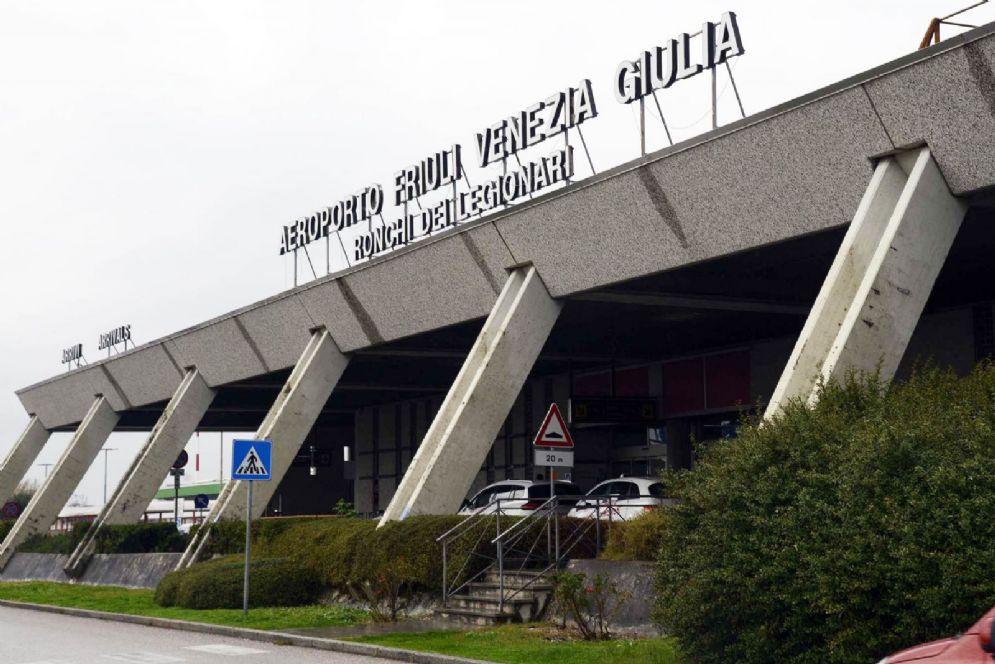 Ingresso del Trieste Airport
