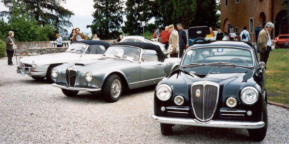 Ritornano le 'Mitiche in castello': le vetture d'epoca nel cuore di Udine