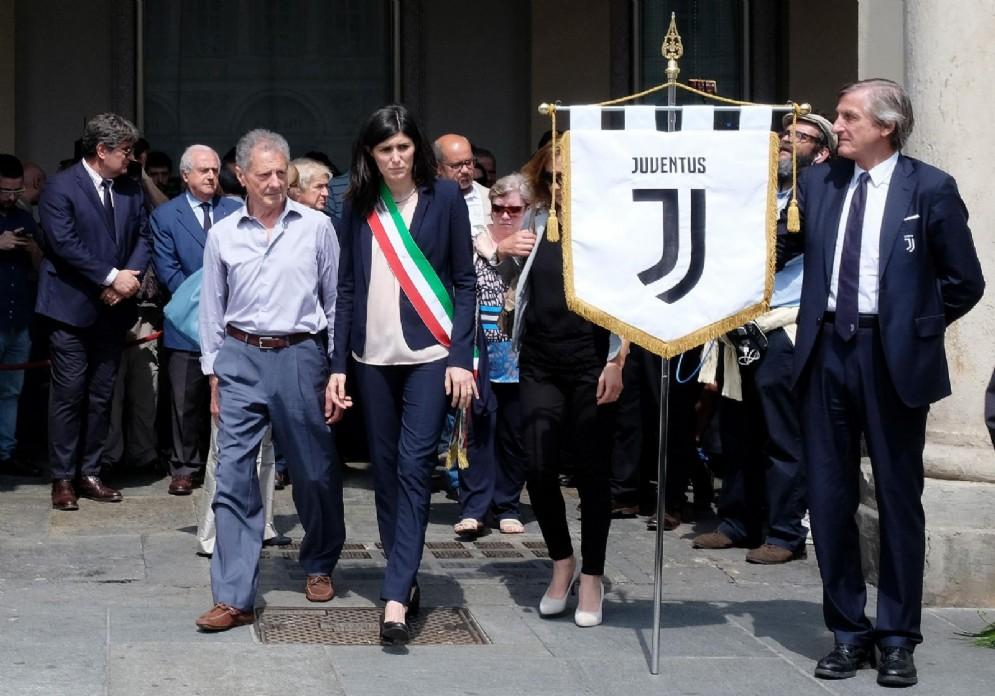 Commemorazione di Erika Pioletti in piazza San Carlo, 3 giugno 2018