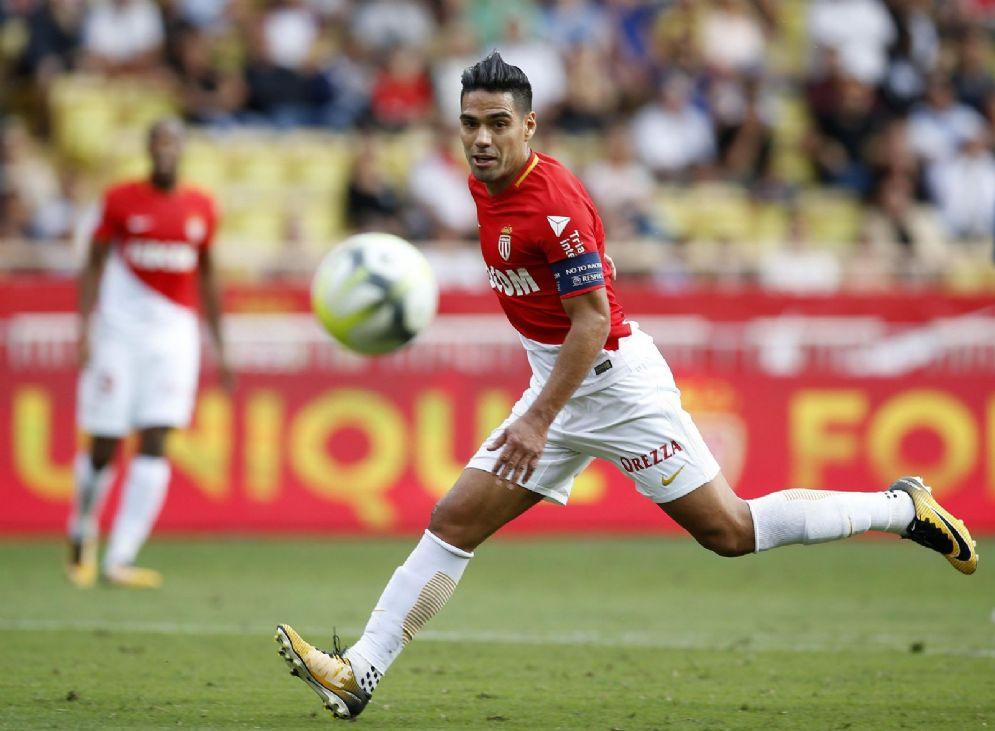Radamel Falcao, centravanti del Monaco e della Colombia