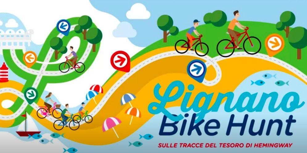 'Lignano Bike Hunt': caccia al tesoro in bicicletta