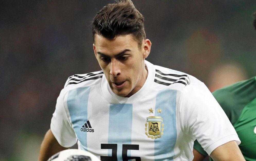 L'attaccante argentino Cristian Pavon