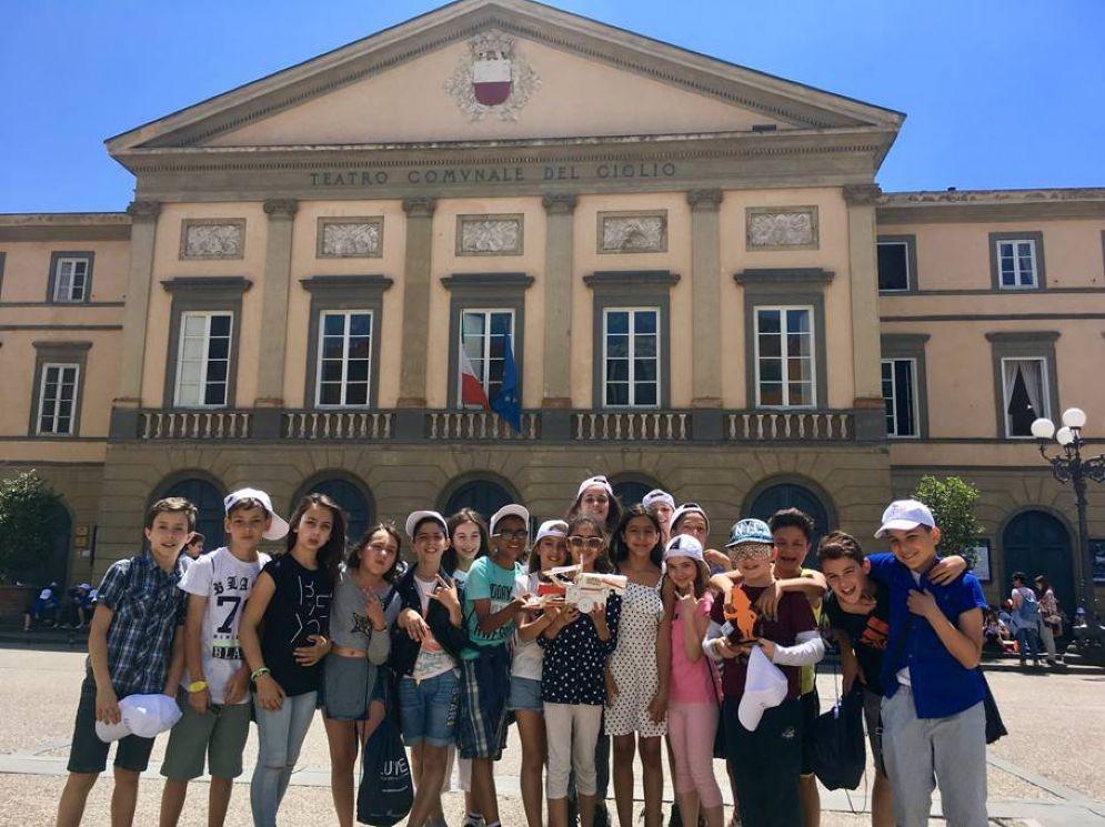 Progetto «Eureka!»: i piccoli vincitori biellesi alla premiazione a Lucca