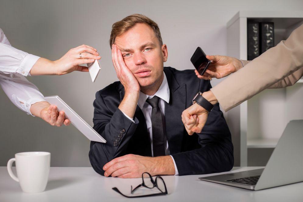 Lo stress al lavoro fa morire prima