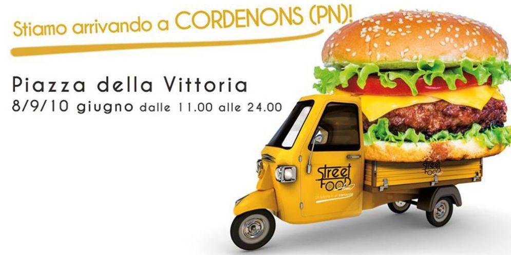 """A Cordenons """"La felicità in un cartoccio"""": l'Italia culinaria si incontra con 'Street Food Time'"""