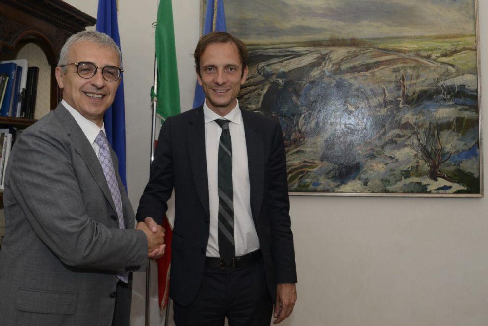 """Governatore Fedriga e rappresentante di """"Friuli nel Mondo"""""""