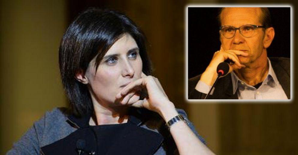 La sindaca Chiara Appendino e Mauro Marinari