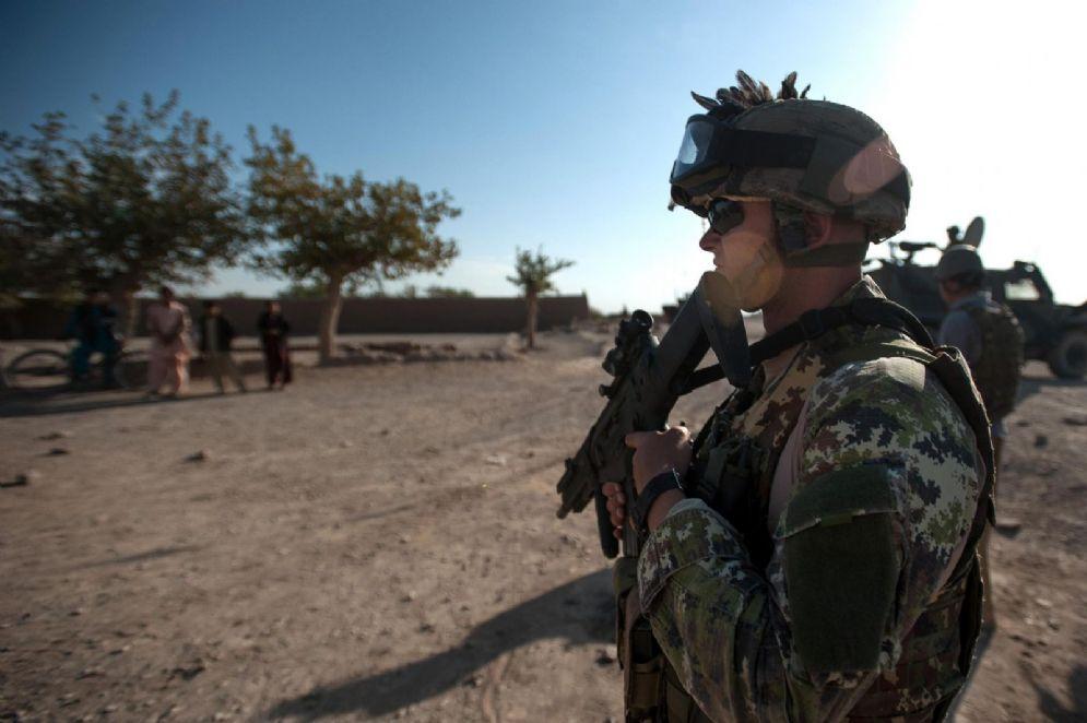 Militari italiani in missione in Afghanistan