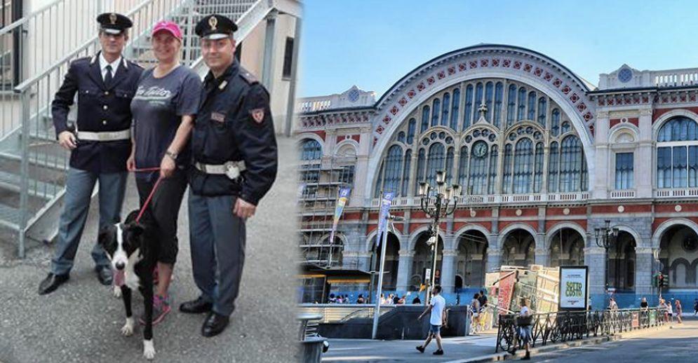 Cagnolina scompare a Porta Nuova: ritrovata dagli agenti della Polfer