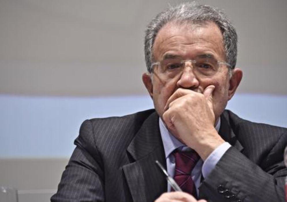 L'ex premier Romano Prodi