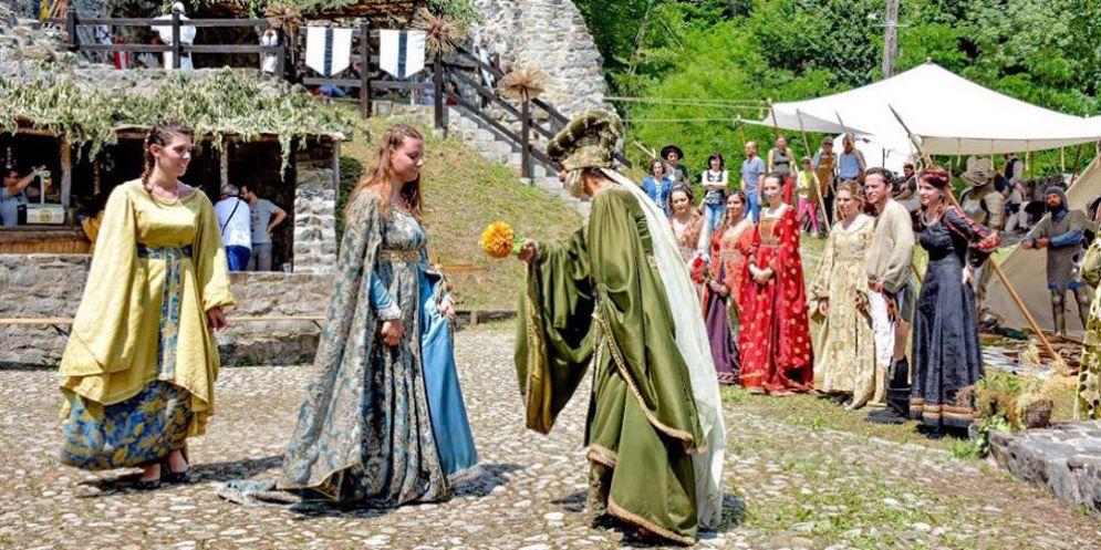 A Cergneu di Nimis va in scena la rievocazione storica Castrum Cernedum