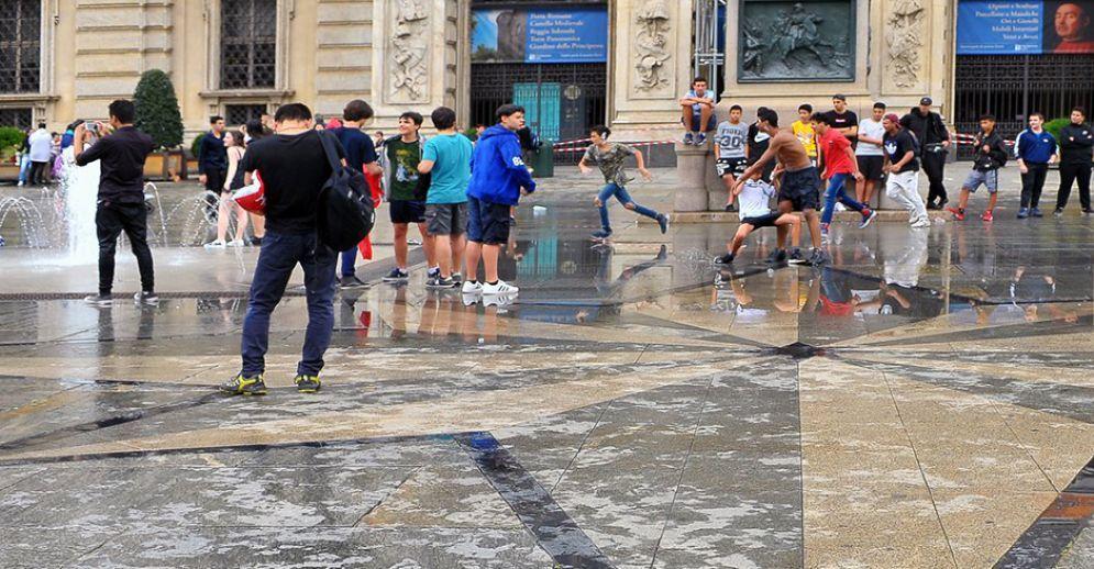 Piazza Castello, venerdì 8 giugno