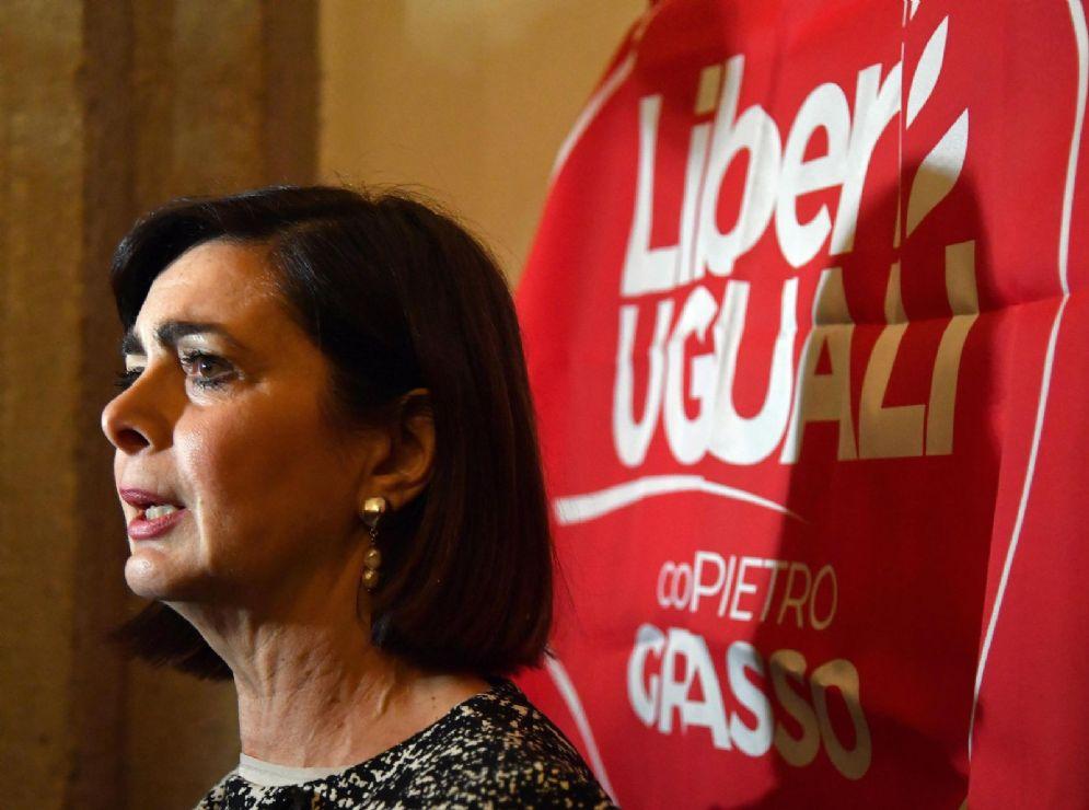La deputata di LeU Laura Boldrini