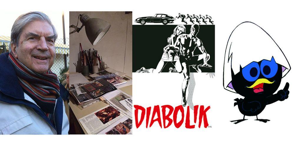 Morto Silvestri, illustratore, grafico e pittore. Aveva creato Calimero, Il Gigante, Jo Condor e Diabolik