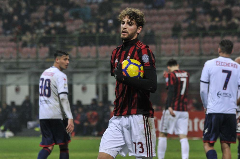 Manuel Locatelli, centrocampista del Milan