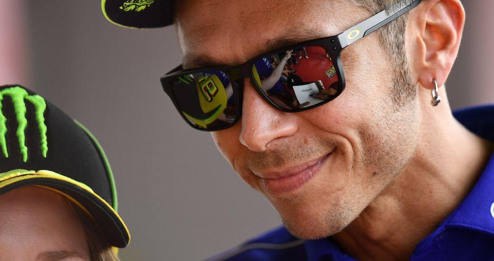 Valentino Rossi a Barcellona