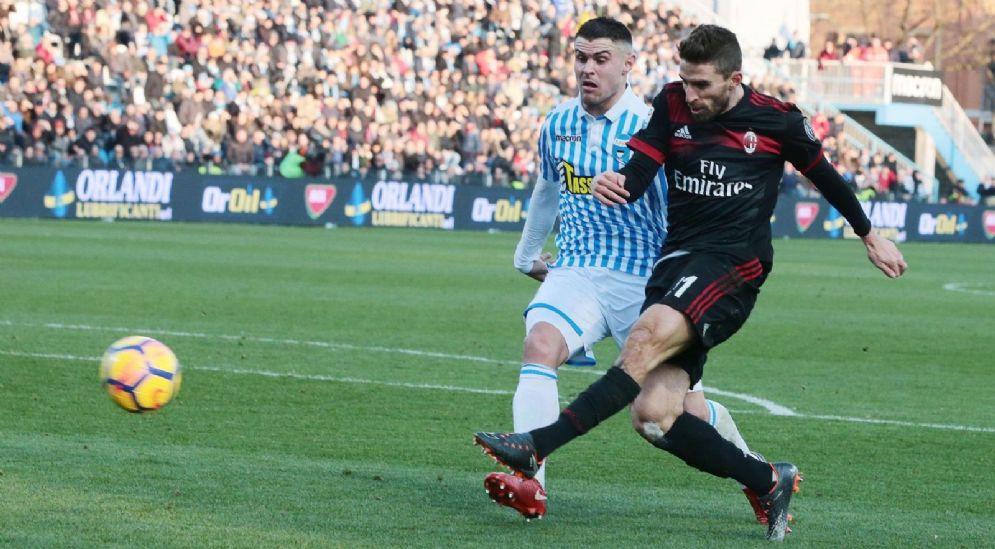 Fabio Borini, attaccante del Milan