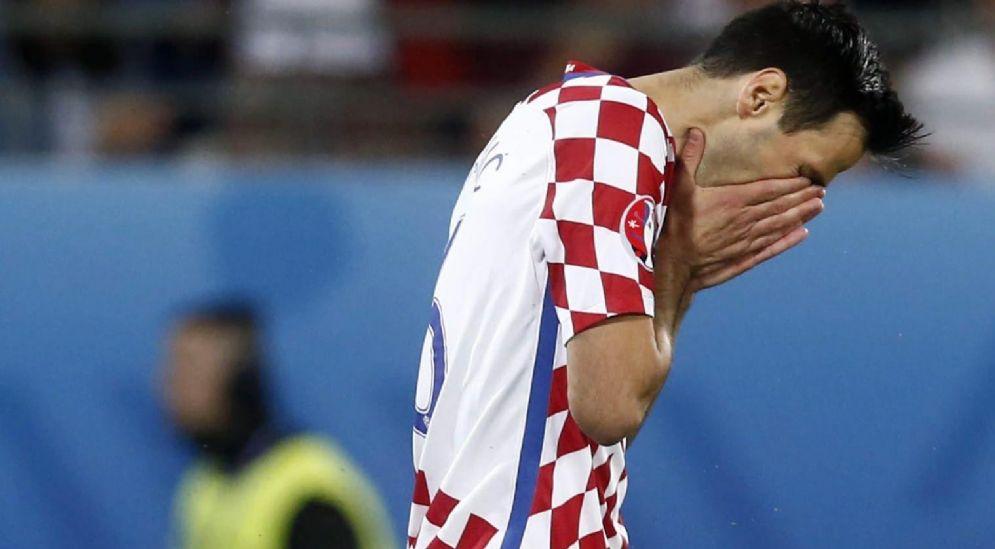 L'attaccante croato Nikola Kalinic