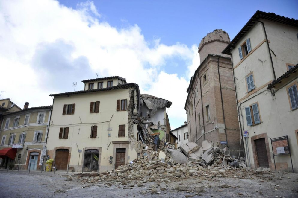 I danni del sisma del 27 ottobre 2016 a Camerino