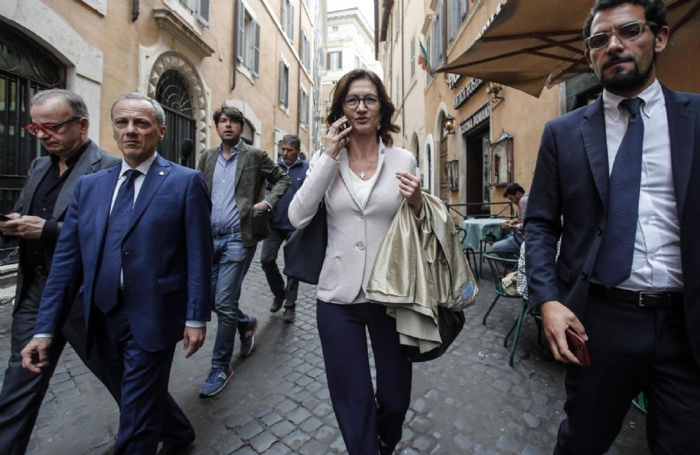 La capogruppo di Forza Italia alla Camera Mariastella Gelmini